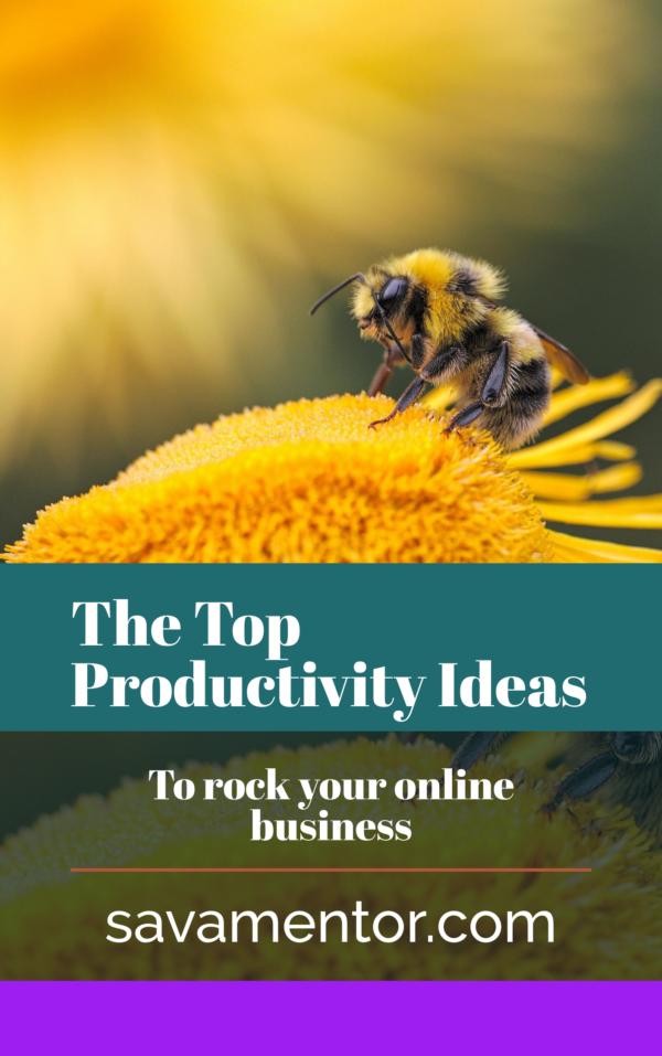 productivity ideas